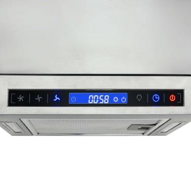 vidaXL Kjøkkenvifte LCD-skjerm berøringssensor 756 m³/t LED[7/9]