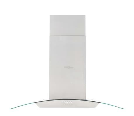 vidaxl insel dunstabzugshaube 90 cm edelstahl 756 m h led g nstig kaufen. Black Bedroom Furniture Sets. Home Design Ideas