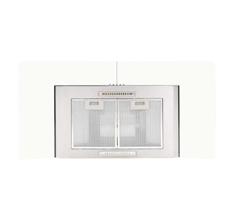 vidaXL Veggmontert kjøkkenvifte 90 cm rustfritt stål 756 m³/t LED[4/8]