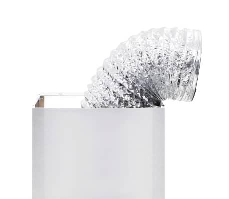 vidaXL Veggmontert kjøkkenvifte 90 cm rustfritt stål 756 m³/t LED[8/8]
