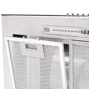 vidaXL Veggmontert kjøkkenvifte 90 cm rustfritt stål 756 m³/t LED[6/8]