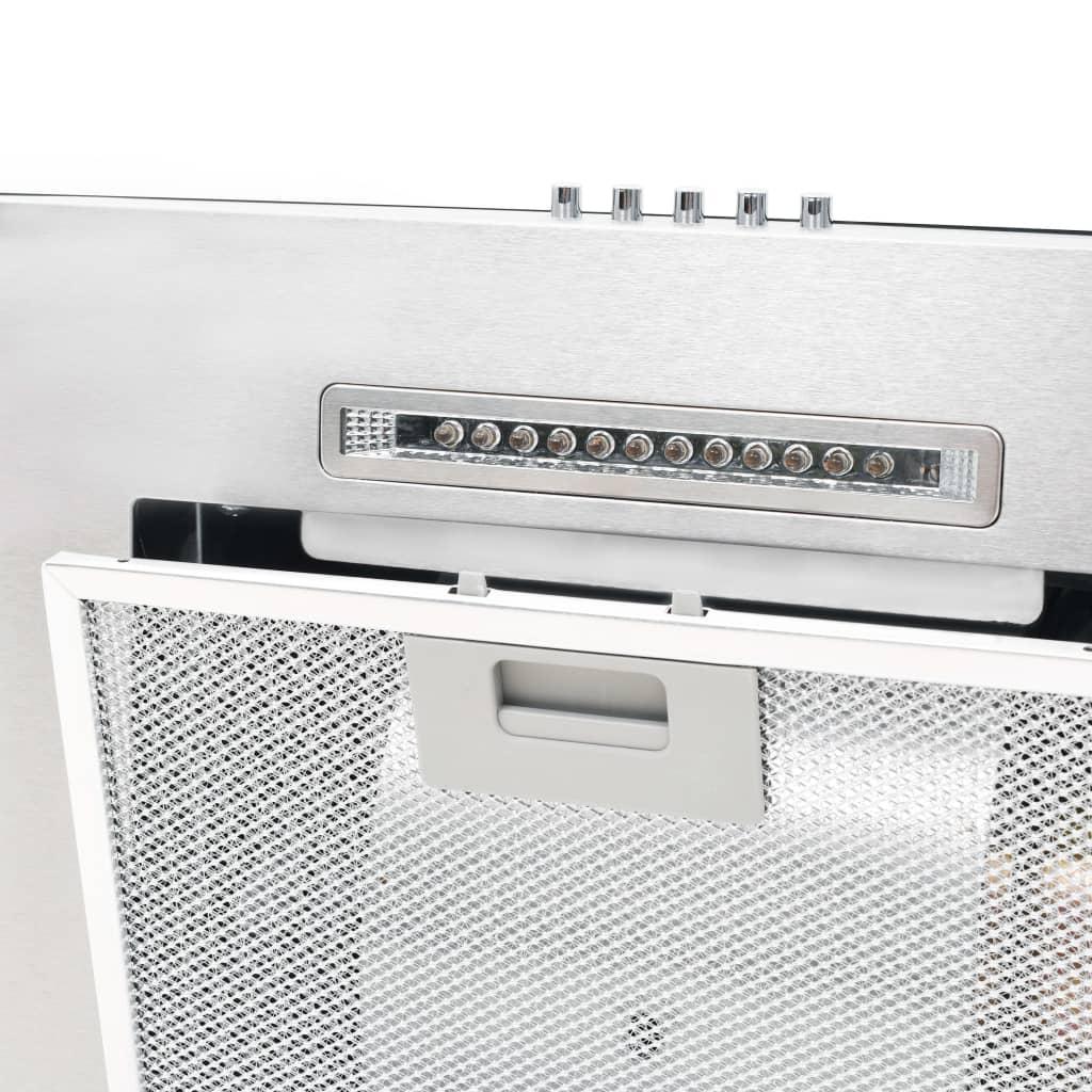 vidaXL Wandafzuigkap 756 m³/u LED 60 cm roestvrij staal