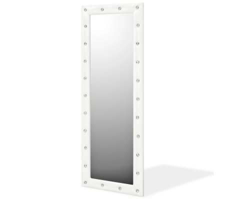 Acheter vidaxl miroir mural cuir artificiel 50 x 140 cm - Miroir 140 cm ...