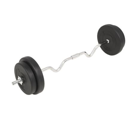 vidaXL Ensemble d'haltères 30 kg[2/5]