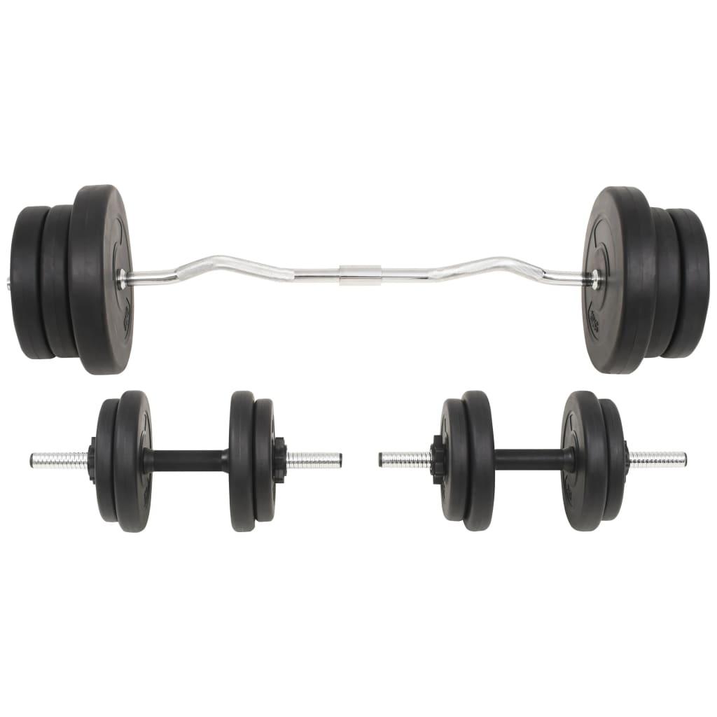 99991402 Langhantel- und Kurzhantelset 60 kg