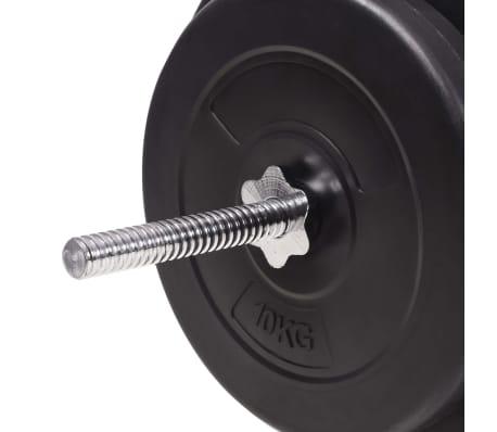 vidaXL Set de haltere și gantere 90 kg[11/13]