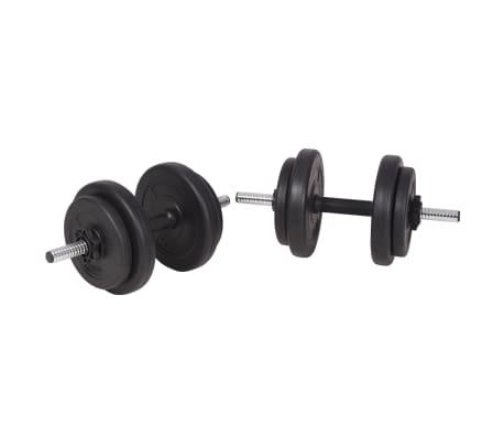 vidaXL Set de haltere și gantere 90 kg[8/13]