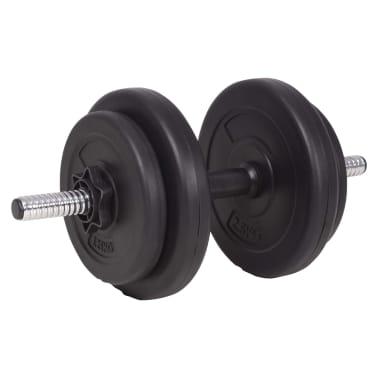 vidaXL Set de haltere și gantere 90 kg[9/13]
