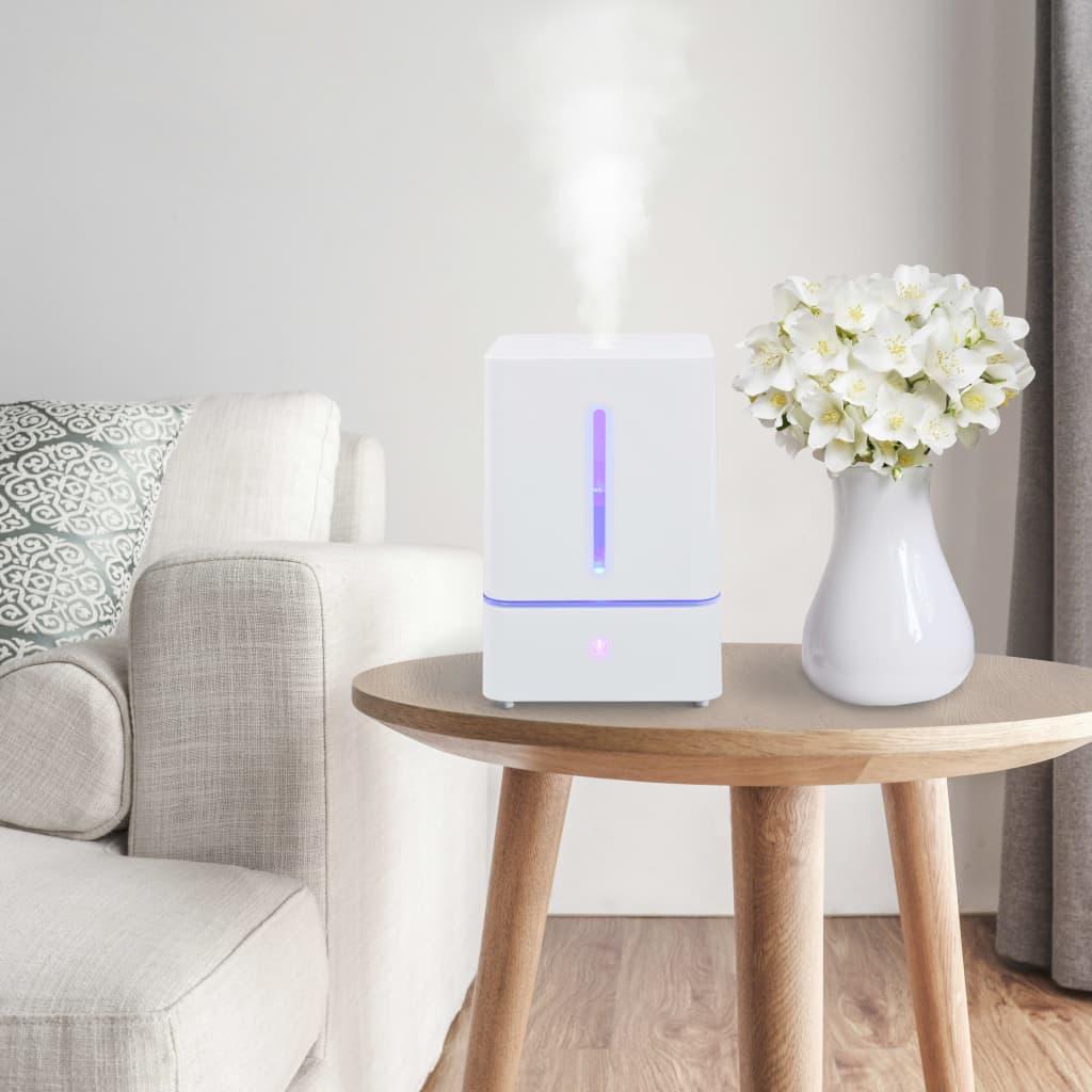vidaXL Ultrasone luchtbevochtiger koele mist en nachtlamp 5,5 L touch