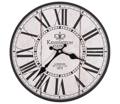 vidaXL Orologio da Parete per Cucina Vintage Londra 30 cm