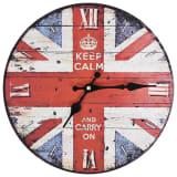 vidaXL Vintage nástěnné hodiny 30 cm UK design