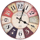 vidaXL Vintage Wall Clock Colourful 30 cm