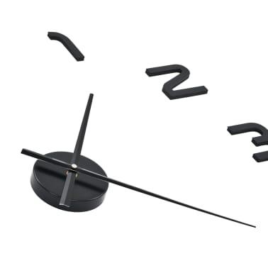 vidaXL Orologio da Parete 3D in Stile Moderno 100cm XXL Nero[4/5]