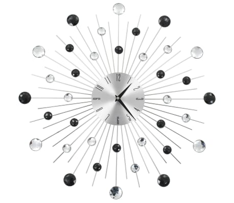 vidaXL Wall Clock with Quartz Movement Modern Design 50 cm