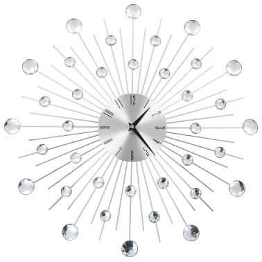 vidaXL Seinäkello kvartsikoneisto moderni muotoilu 50 cm[1/6]