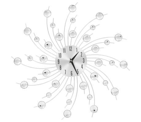 vidaXL Wall Clock with Quartz Movement Modern Design 50 cm