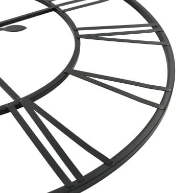 vidaXL Sien. laikrodis, vintaž. stil., kvarc. mech., metal., 80cm, XXL[5/6]