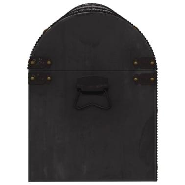 vidaXL Coffre de rangement Bois massif style vintage 120 x 30 x 40 cm[4/8]