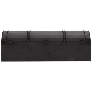 vidaXL Coffre de rangement Bois massif style vintage 120 x 30 x 40 cm[5/8]