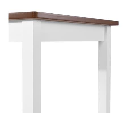 vidaXL Barska mizica in stolčki 3 delni komplet iz trdnega lesa[10/13]