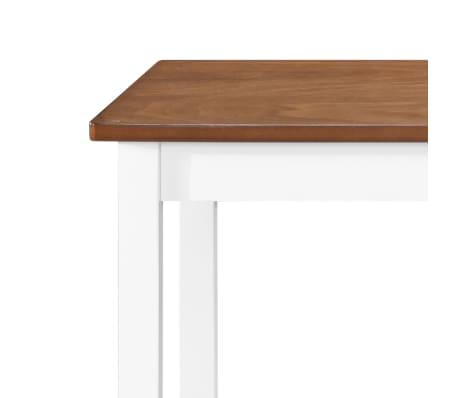 vidaXL Barska mizica in stolčki 3 delni komplet iz trdnega lesa[11/13]
