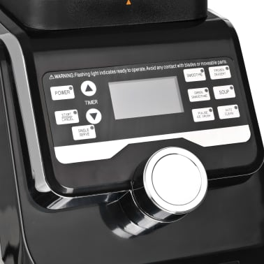 vidaXL Högpresterande digital blender LCD-display 1400 W 2 L BPA-fri[9/10]