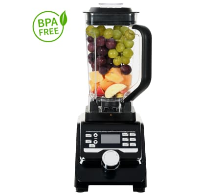 vidaXL Högpresterande digital blender LCD-display 1400 W 2 L BPA-fri[1/10]