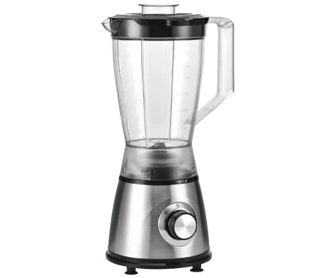 vidaXL Blender smoothie, 1,5 L, oțel inoxidabil, zgomot redus