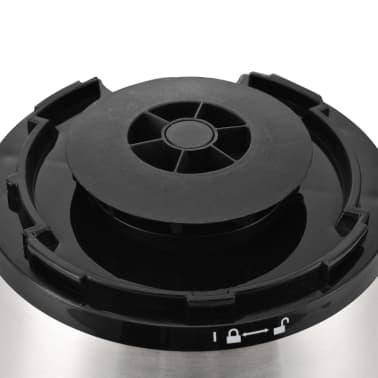 vidaXL Mešalnik za smutije 1,5 L nerjaveče jeklo nizka raven hrupa[9/9]
