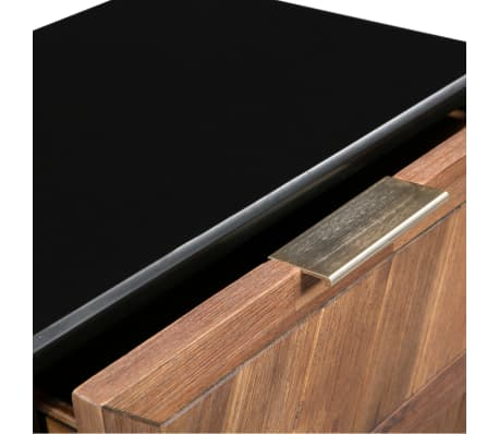 vidaXL Noptieră, lemn masiv de acacia, 40 x 30 x 53 cm[6/9]