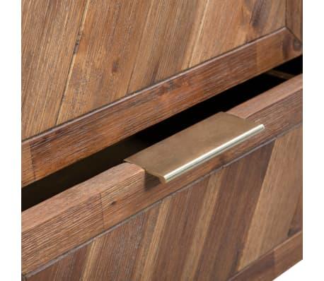 vidaXL Noptieră, lemn masiv de acacia, 40 x 30 x 53 cm[7/9]