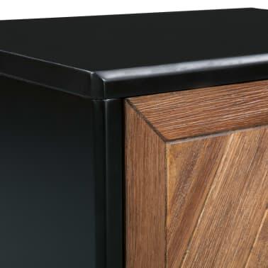 vidaXL Noptieră, lemn masiv de acacia, 40 x 30 x 53 cm[8/9]