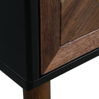 vidaXL Servantă din lemn masiv de acacia, 90 x 33,5 x 80 cm[8/9]