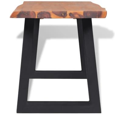 "vidaXL Bench Solid Acacia Wood 57.1""[3/6]"