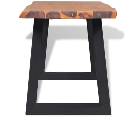 "vidaXL Bench Solid Acacia Wood 63""[3/6]"