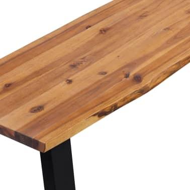 vidaXL Klupa od masivnog drva akacije 160 cm[4/6]