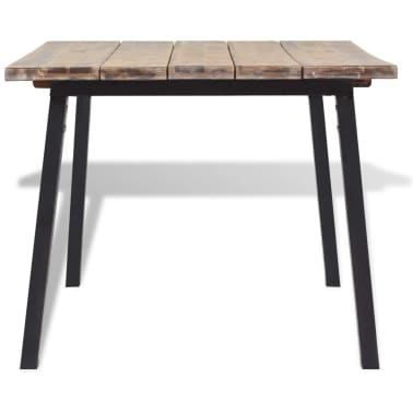 vidaXL Table de salle à manger 170 x 90 cm Bois d