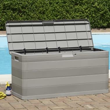 vidaXL Gartenbox Grau 117×45×56 cm[4/8]