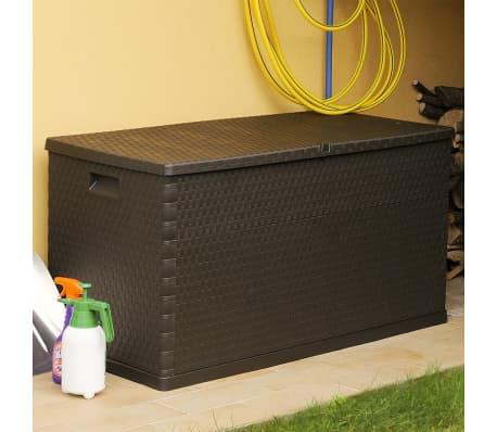 vidaXL Gartenbox Braun 120×56×63 cm[5/11]
