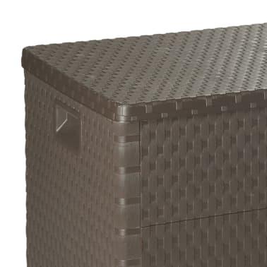 vidaXL Gartenbox Braun 120×56×63 cm[8/11]