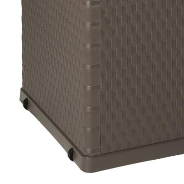 vidaXL Gartenbox Braun 120×56×63 cm[9/11]