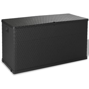 vidaXL dārza uzglabāšanas kaste, antracītpelēka, 120x56x63 cm[1/10]
