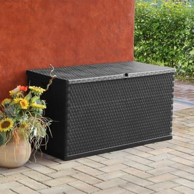 vidaXL dārza uzglabāšanas kaste, antracītpelēka, 120x56x63 cm[3/10]
