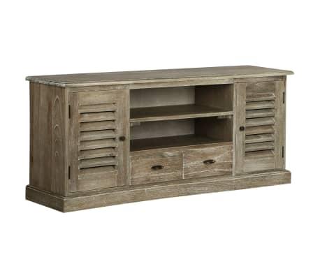 acheter vidaxl meuble tv bois de melia azedarach massif 145 x 35 x 60 cm pas cher. Black Bedroom Furniture Sets. Home Design Ideas