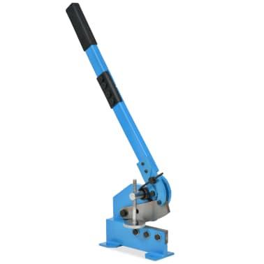 vidaXL Bänkplåtsax 125 mm blå[1/5]