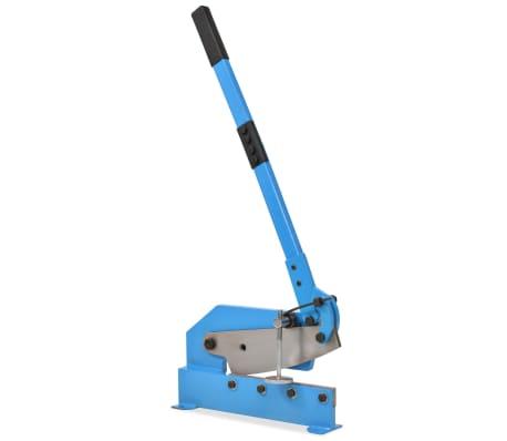 vidaXL Cisaille à levier 300 mm Bleu