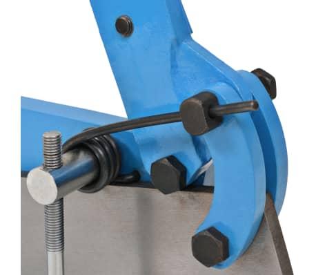 vidaXL Cisaille à levier 300 mm Bleu[3/5]