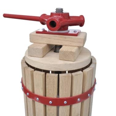 vidaXL Fruit- en wijnpers 6 L[3/5]
