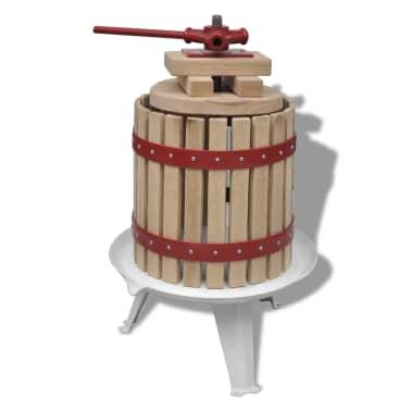 vidaXL Fruit- en wijnpers 12L[1/5]