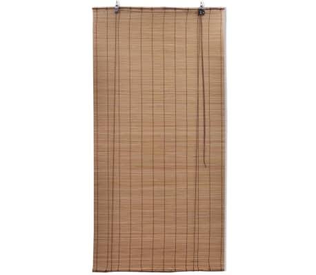 vidaXL Bambusrollo 80 x 220 cm Braun[2/5]